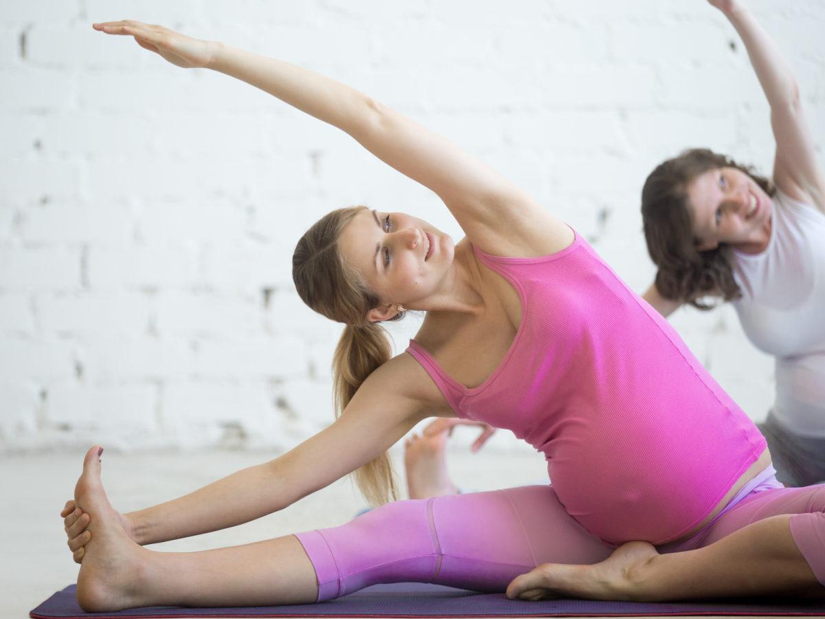 Sport to zdrowie, nawet w ciąży.