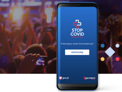 STOP COVID - ProteGO Safe